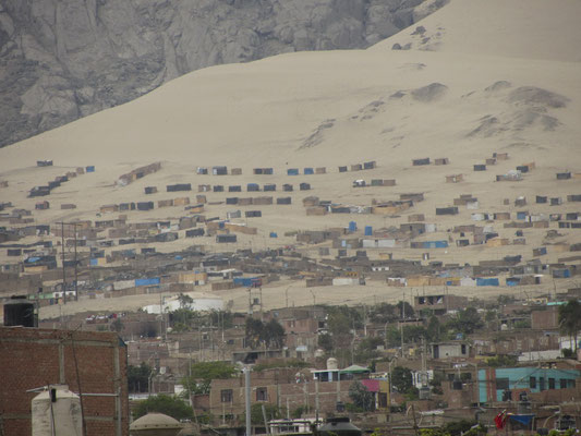 Die Umgebung von Trujillo.