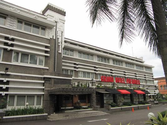 Das Grand Hotel Peanger mit viel Art Deco.