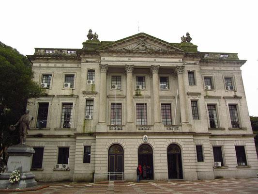 Das größte städtische Verwaltungsgebäude.