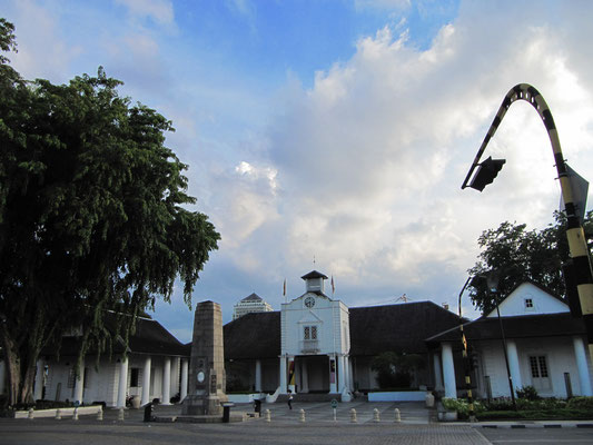 Das ehemalige Rathaus.