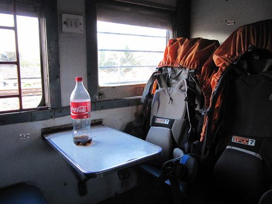 Unsere Säcke auf dem Weg nach Goa.