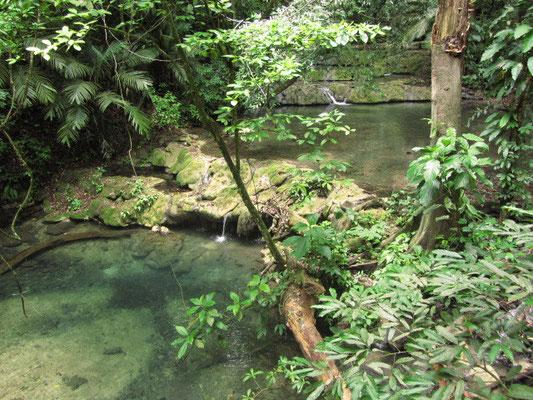 Der Fluß/Bach Arroyo Ottolum.