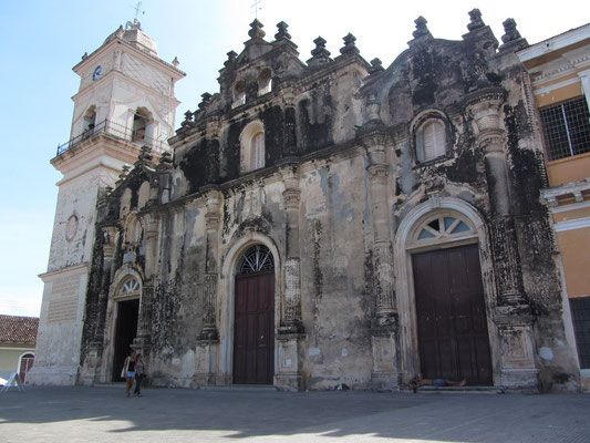 Die Kirche La Merced.
