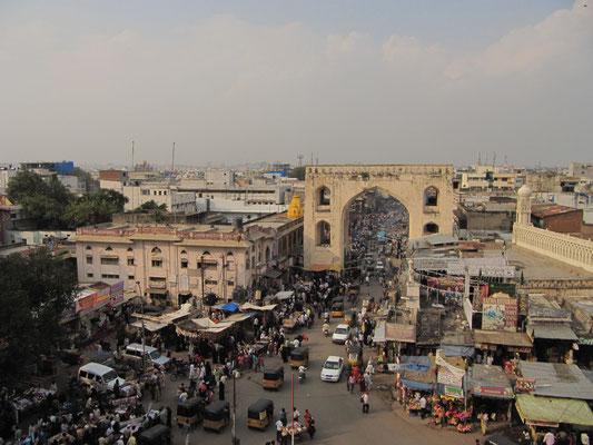 Eines der 4 Tore, die den historischen Stadtkern markieren.