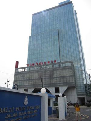 Polizeistation neben dem Tu Lan Plaza.