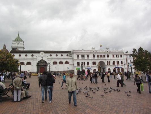 Der Plaza de Armas ist das eignetliche Zentrum..