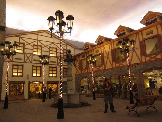 Bühnenreif im neuen Vorzeigehotel der Stadt.