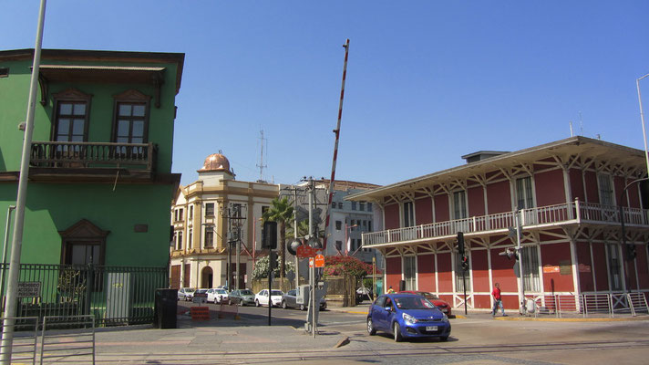 Das historische Viertel.