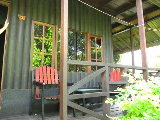 Unsere erste Unterkunft in Tuk Tuk auf Samosir.