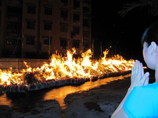 ... und verbrannt.