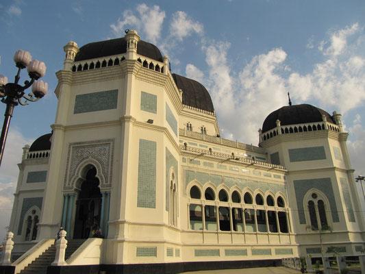 Die Große Moschee.