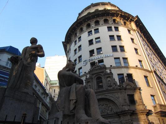 Innenstadt ist Bankenstadt.