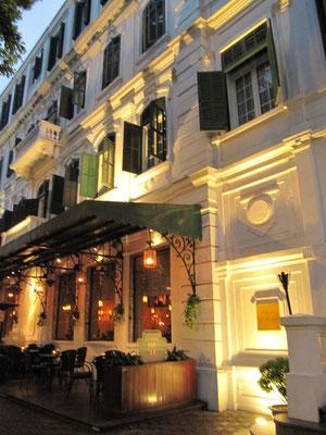 Das Hotel Metropole, Hanois erste Adresse.
