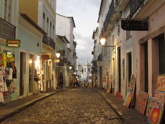 Das sind die Straßen von Salvador.