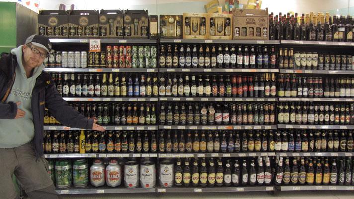 Ein Traum für Bierliebhaber.