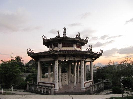 Gedenkpavillion. (Chinesischer Friedhof)