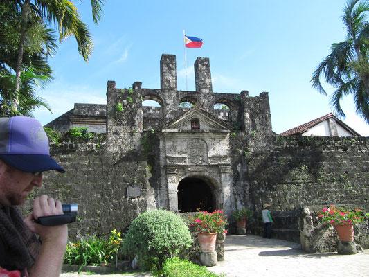 Eingang des San Pedro Forts.