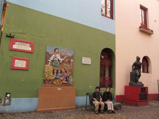 La Boca ist Buenos Aires bekanntestes der 48 Stadtviertel. Das hat sich sogar bei den Japanern herumgesprochen.