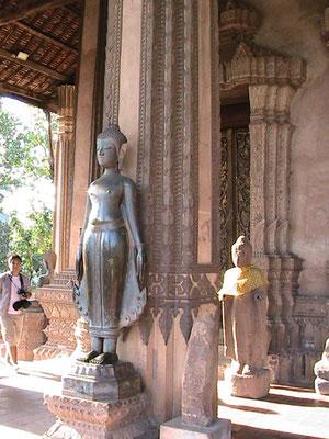 Buddhafiguren.