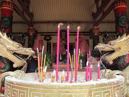 Im Eng-An-Kiong-Tempel.
