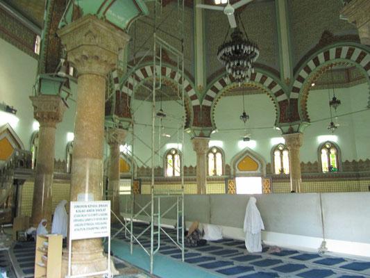 In der Großen Moschee.