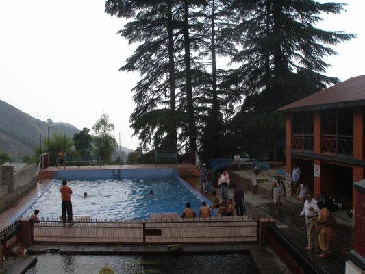 Öffentliches Schwimmbad.