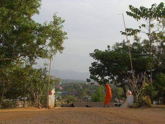 Blick auf Luang Namtha.