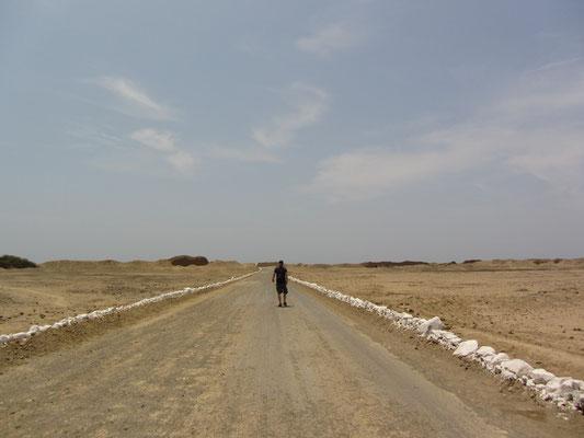 Der Weg nach Chan Chan war lang.
