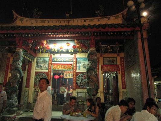 An diesen Tagen werden die Tempel von der chinesischen Gemeinde besonders gut besucht.