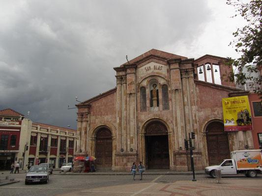 Kirche San Blas.