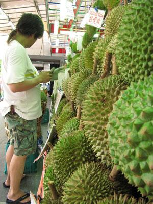 Durians.