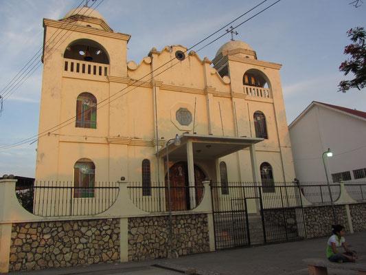 Die Kirche am Parque Central.