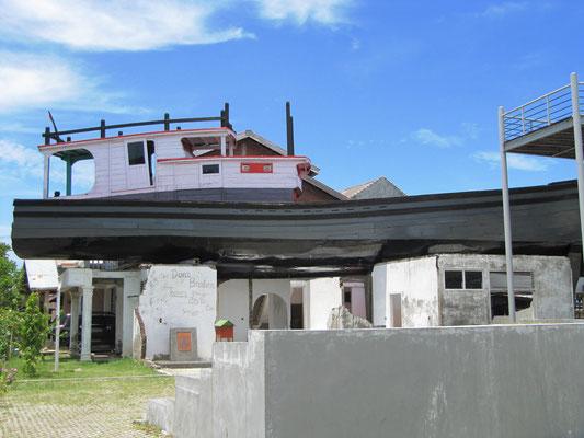 Das Schiff im Dach.