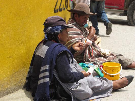 In den Straßen von Gualaceo.