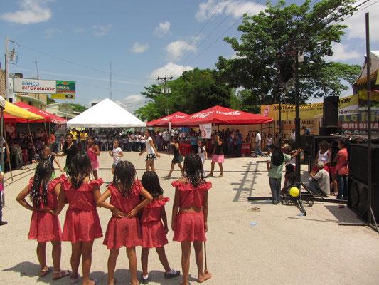 Tanzwettbewerb in Santa Elena.