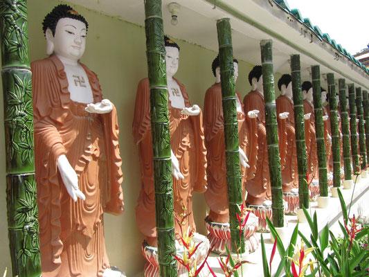 Im Kek Lok Si Tempel.