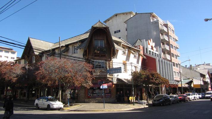 In den Straßen von Bariloche.