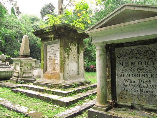 Der kleine Holländische Friedhof. (BG)