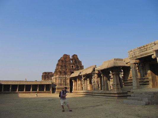 Im Achyutaraya-Tempel.