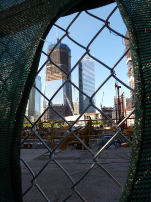 On the rise. Das alte World Trade Center ist weg, es lebe das neue.