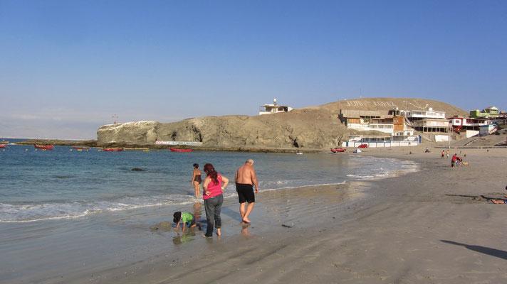 Unser erster chilenischer Strand.
