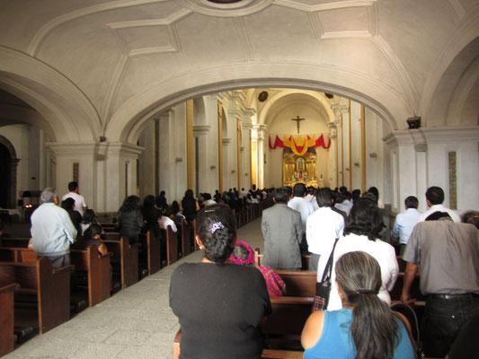 Gottesdienst in der La Merced.