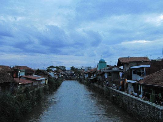 Das Kampong-Viertel (Dorf-Viertel oft zentral gelegen).
