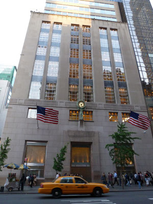 Tiffany's auf der 5th Avenue.