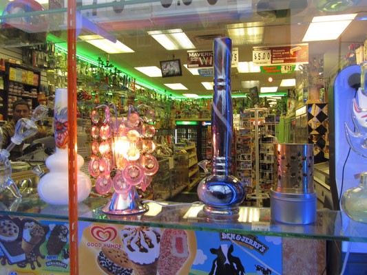 Headshop auf der South Street.