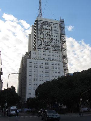 Evita ist immer noch überall. Eva Peron war und ist die bekannteste Argentinerin.