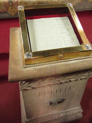 Im Casa de la Libertad wurde 1825 die Unabhängigkeitserklärung Boliviens unterzeichnet.