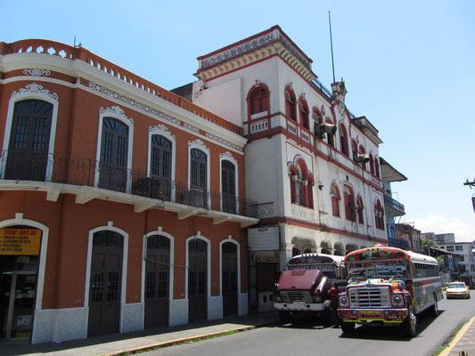 Unser Viertel nach dem Umzug ist Casco Antiguo, das historische Viertel.
