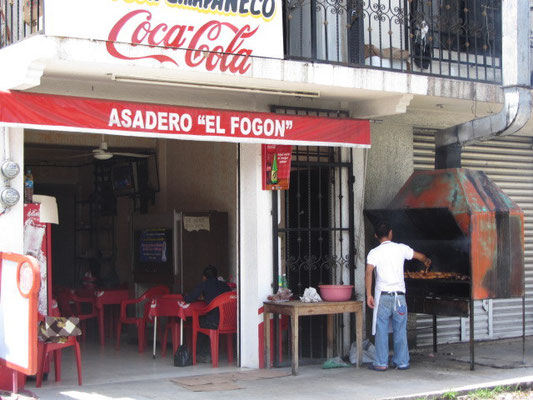 Chicken Shop in Palenque.