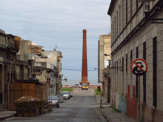 Im Hafenviertel.